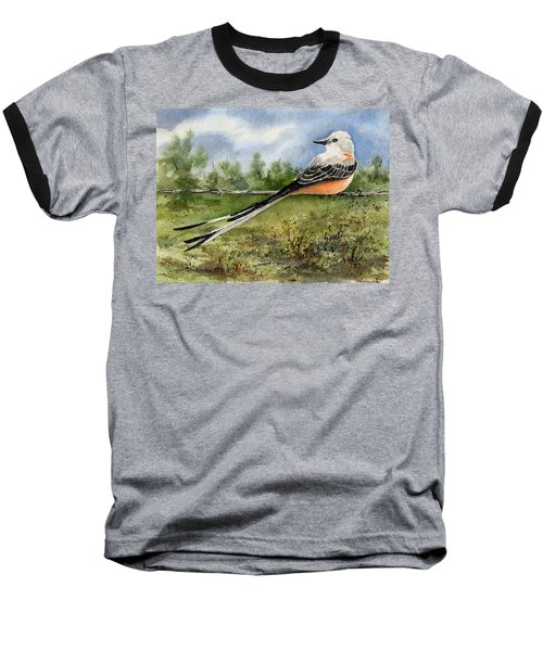 Scissor-tail Flycatcher Baseball T-Shirt