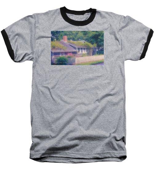 Sconset Cottage #3 Baseball T-Shirt