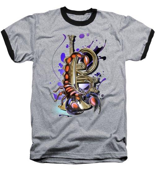 Scorpio Baseball T-Shirt
