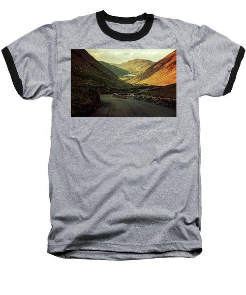 Scotland At The Sunset Baseball T-Shirt by Jaroslaw Blaminsky