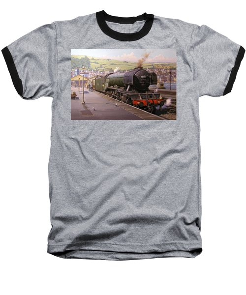 Scotsman At Kingswear Baseball T-Shirt