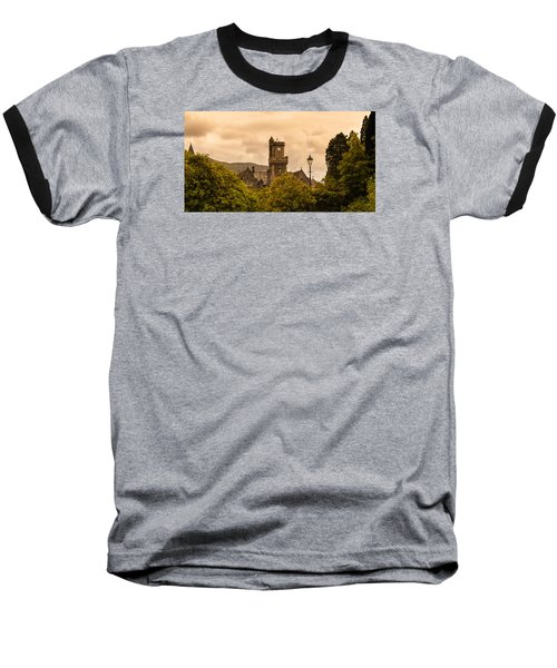 Scottish Abbey Baseball T-Shirt