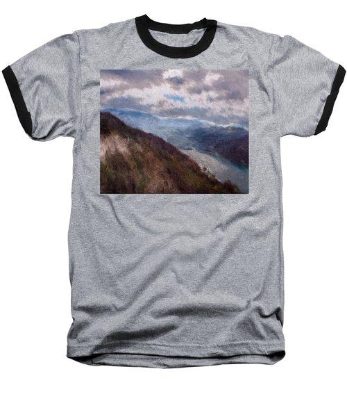 Scottish Landscape Baseball T-Shirt