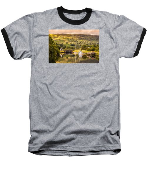 Scottish Loch 3 Baseball T-Shirt