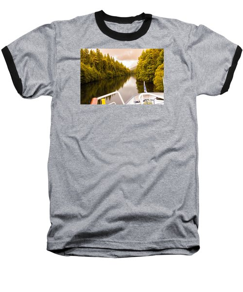 Scottish Loch 4 Baseball T-Shirt
