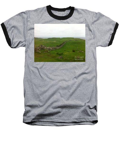 Scottish Wall Baseball T-Shirt