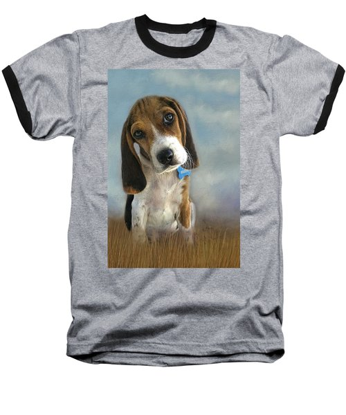 Baseball T-Shirt featuring the photograph Scout by Steven Richardson