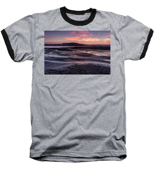 Scrabo Above Strangford Lough Baseball T-Shirt