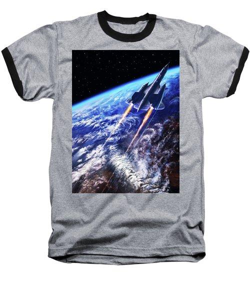 Scraping Outer Spheres Baseball T-Shirt
