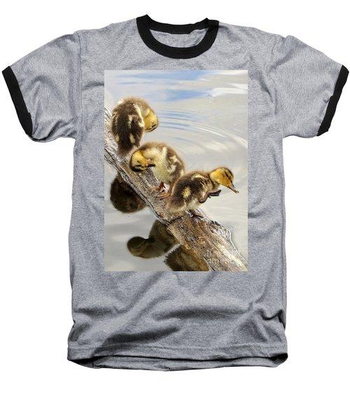 Preening Frenzy Baseball T-Shirt