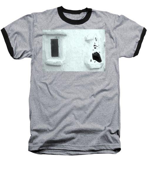 Scream Wall Baseball T-Shirt