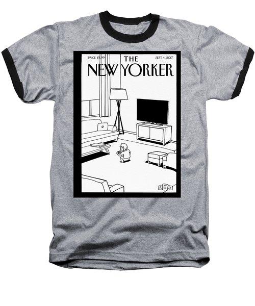 Screen Time Baseball T-Shirt