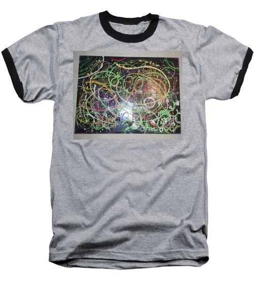Scribble Baseball T-Shirt by Talisa Hartley