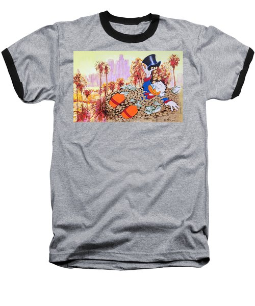 Scrooge In La Baseball T-Shirt