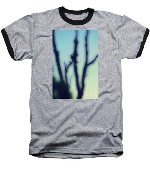 Baseball T-Shirt featuring the photograph Scrub Silhouette by Cassandra Buckley