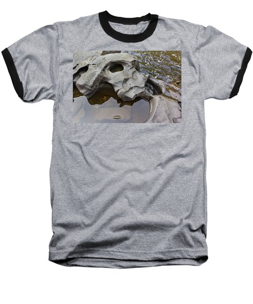 Baseball T-Shirt featuring the photograph Sculpted Rock by Peter J Sucy