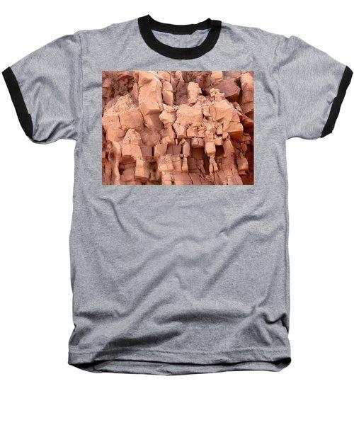 Sculpted Rocks Baseball T-Shirt