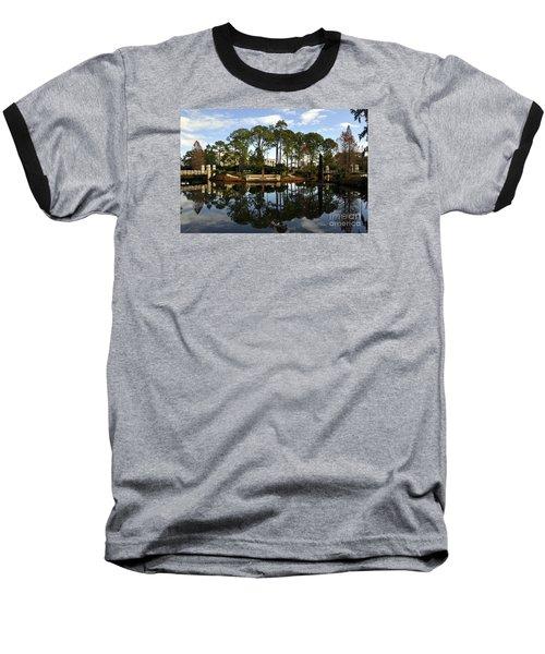 Sculpture Garden Baseball T-Shirt