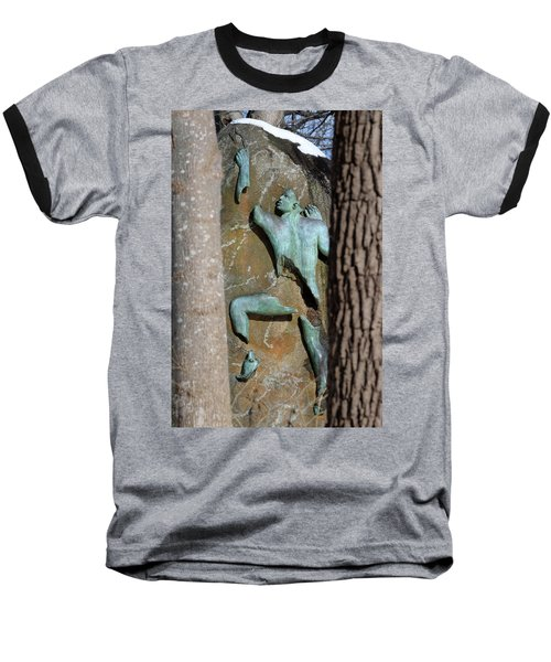 Sculpture Stony Brook New York Baseball T-Shirt