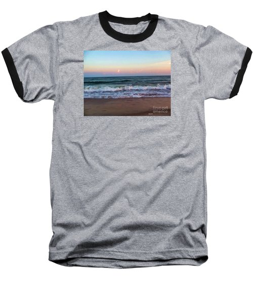Baseball T-Shirt featuring the photograph Sea And Sky by Roberta Byram