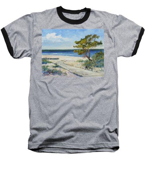 Sea Beach 6 - Baltic Baseball T-Shirt