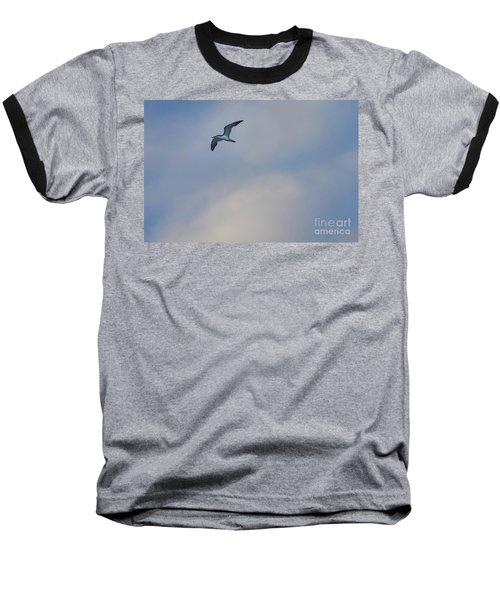 Sea Bird In Flight Baseball T-Shirt