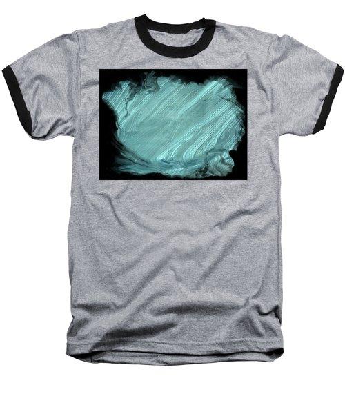 Sea Blue Baseball T-Shirt by Athala Carole Bruckner