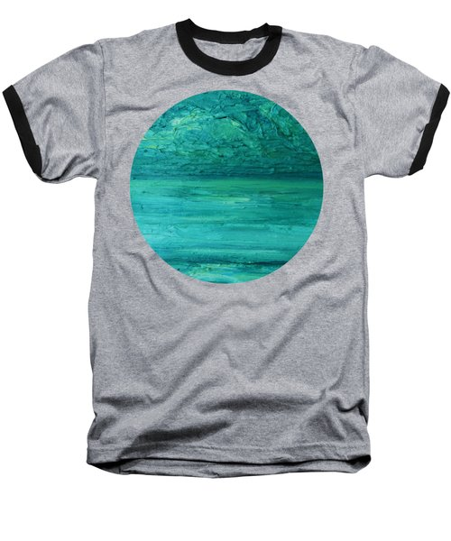 Sea Blue Baseball T-Shirt