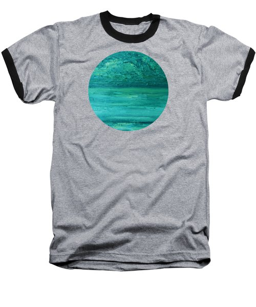 Sea Blue Baseball T-Shirt