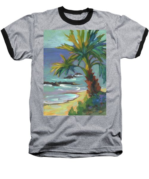 Sea Breeze Baseball T-Shirt by Diane McClary