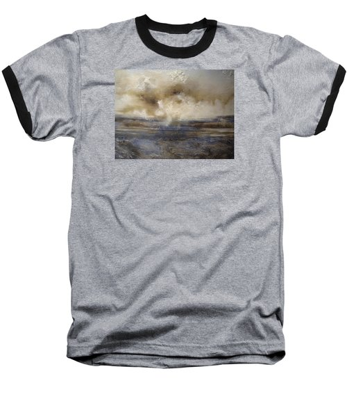 Baseball T-Shirt featuring the painting Sea Breeze by Tamara Bettencourt