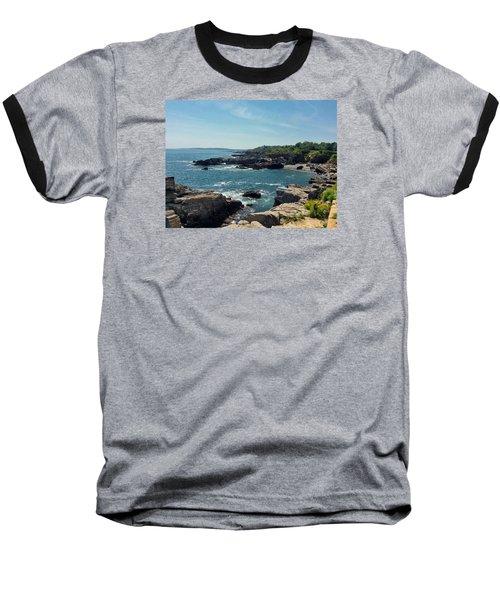 Sea Coast Maine... Baseball T-Shirt
