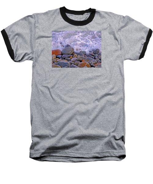 Sea Covers All  Baseball T-Shirt by Lynda Lehmann
