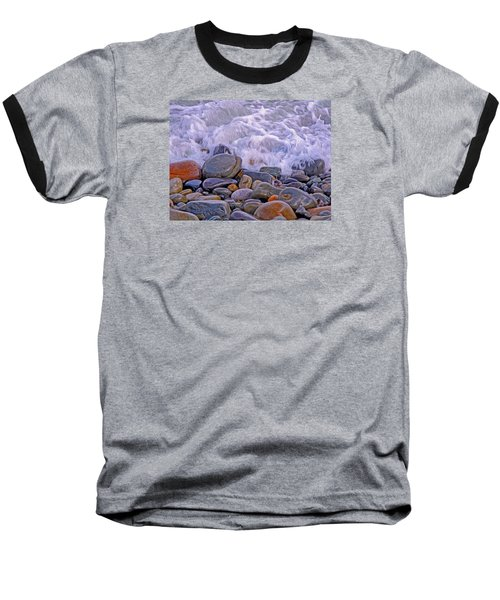 Sea Covers All  Baseball T-Shirt