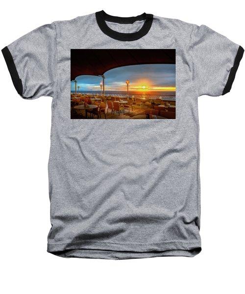 Baseball T-Shirt featuring the photograph Sea Cruise Sunrise by John Poon