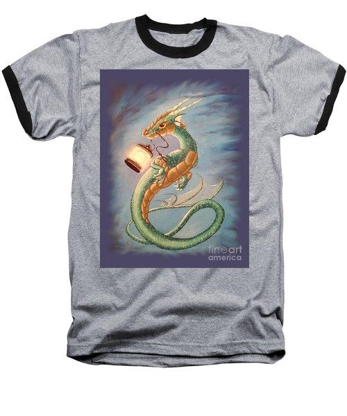Sea Dragon And Lantern Baseball T-Shirt