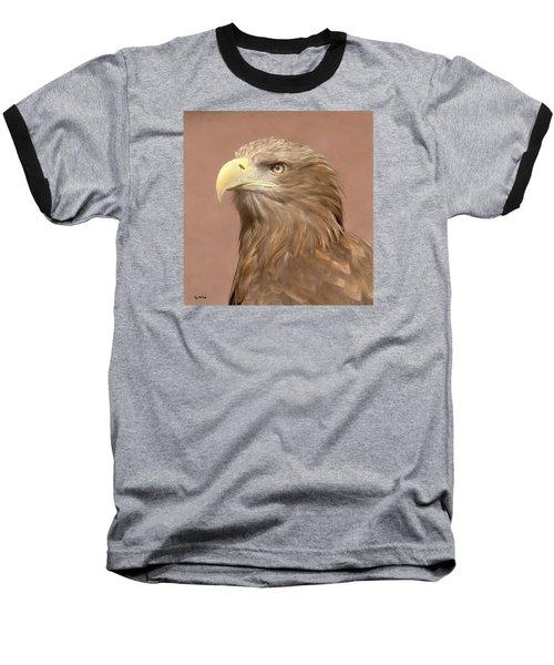 Sea Eagle Baseball T-Shirt by Roy McPeak