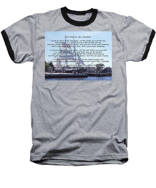 Sea Fever Baseball T-Shirt