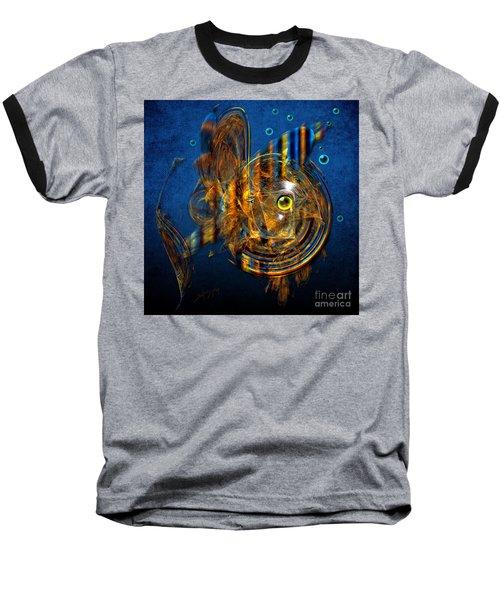 Sea Fish Baseball T-Shirt by Alexa Szlavics