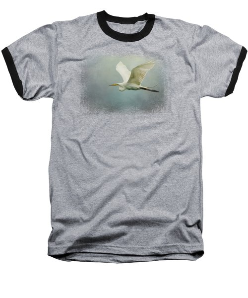 Sea Flight Baseball T-Shirt by Jai Johnson