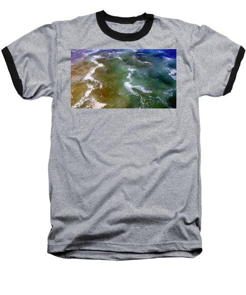Creative Ocean Photo Baseball T-Shirt