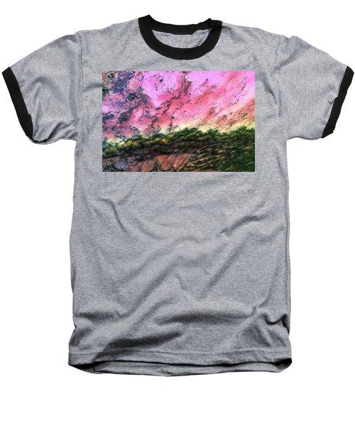 Sea Foam Art Baseball T-Shirt
