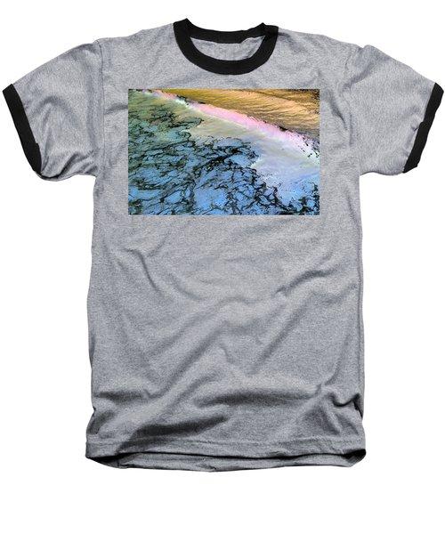 Sea Foam Pink Baseball T-Shirt