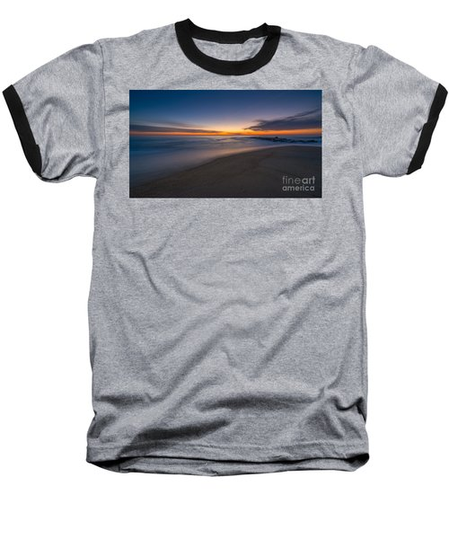 Sea Girt Sunrise New Jersey  Baseball T-Shirt