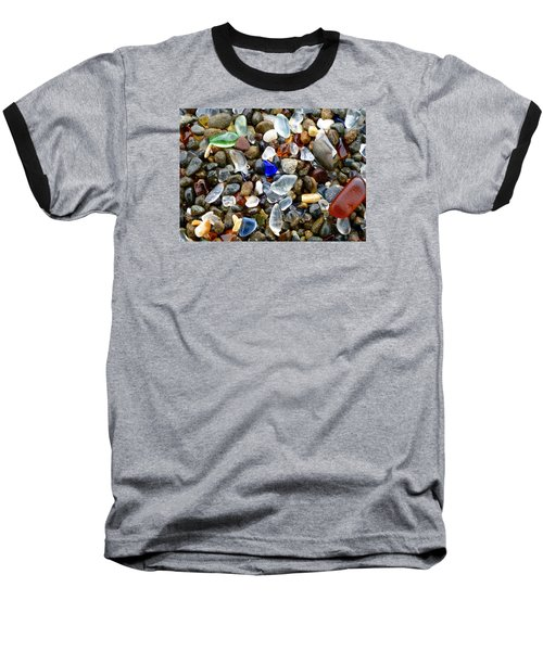 Sea Glass Beauty Baseball T-Shirt