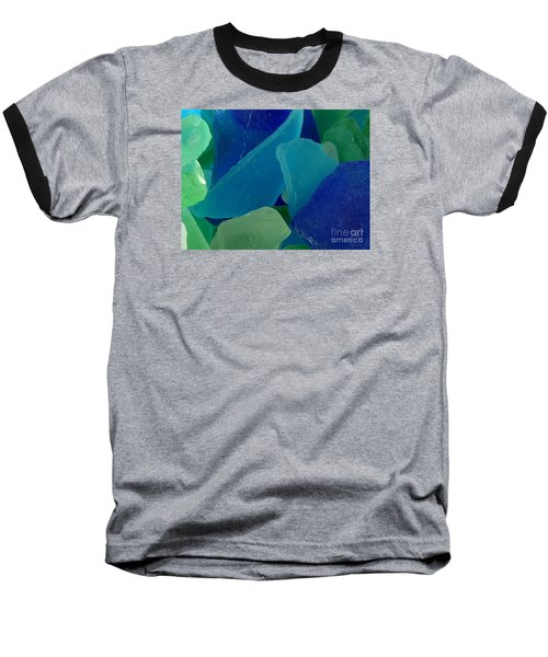 Sea Glass Baseball T-Shirt