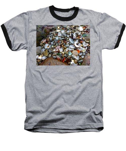 Sea Glass Gems Baseball T-Shirt