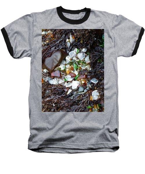 Sea Glass Nest Baseball T-Shirt