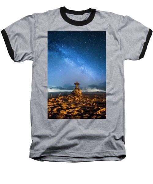 Sea Goddess Statue, Bali Baseball T-Shirt