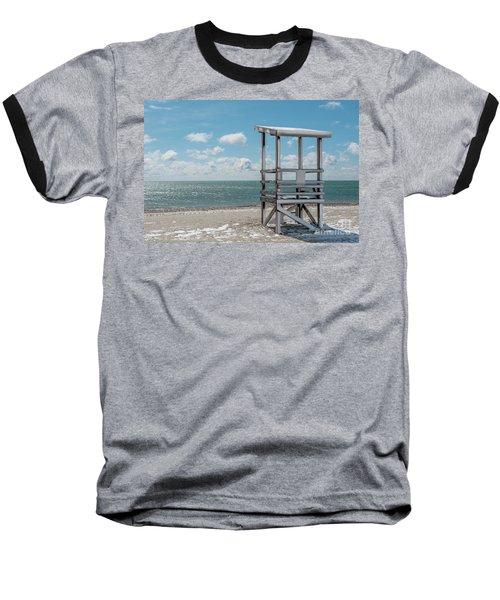 Sea Gull Beach #2 Baseball T-Shirt